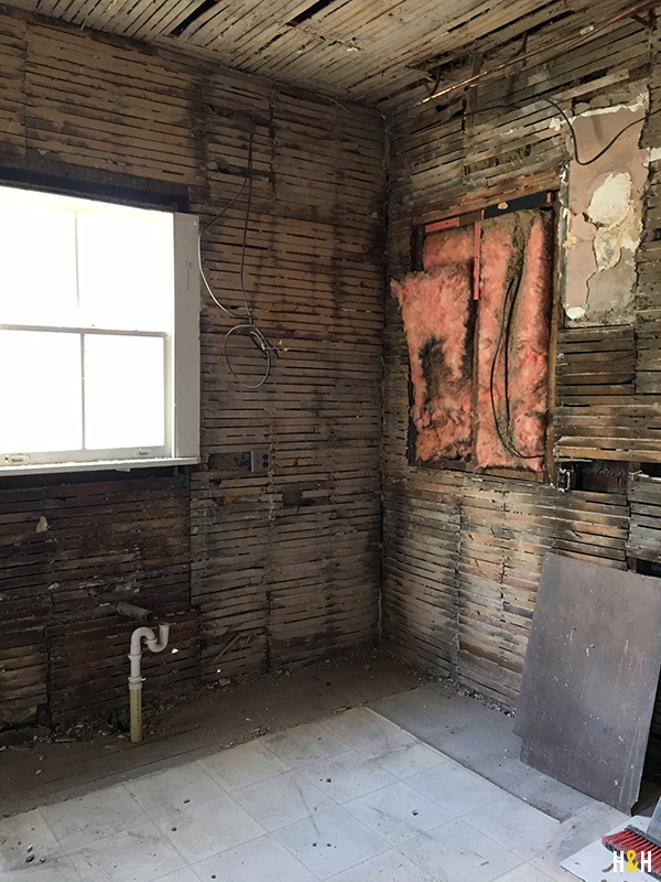 Rivermont Kitchen Renovation Phase 1: Demo | Hannah & Husband